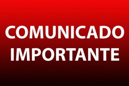 Comunicado Importante: Reforma do Estatuto